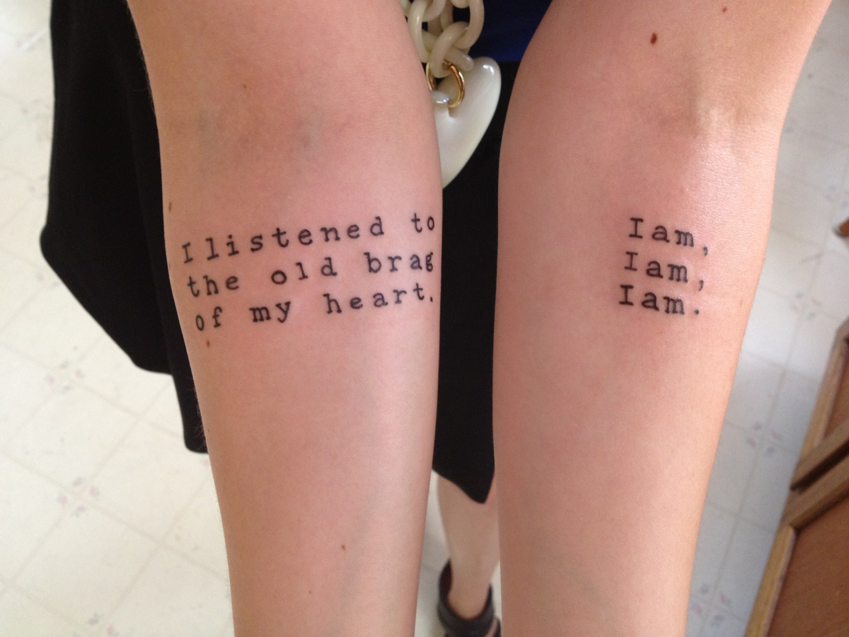 Intimidatingly beautiful meaningful tattoos