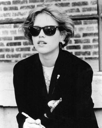 If I go back, I'm hanging out in the library all the time dressed like Molly Ringwald.