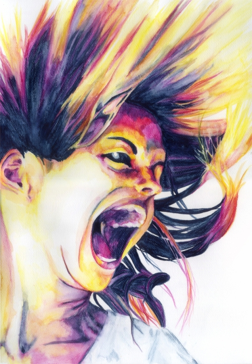Scream of Pop by ludicrouslouisa  (DeviantArt)