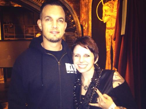 Myself and Mark Tremonti of Alter Bridge!